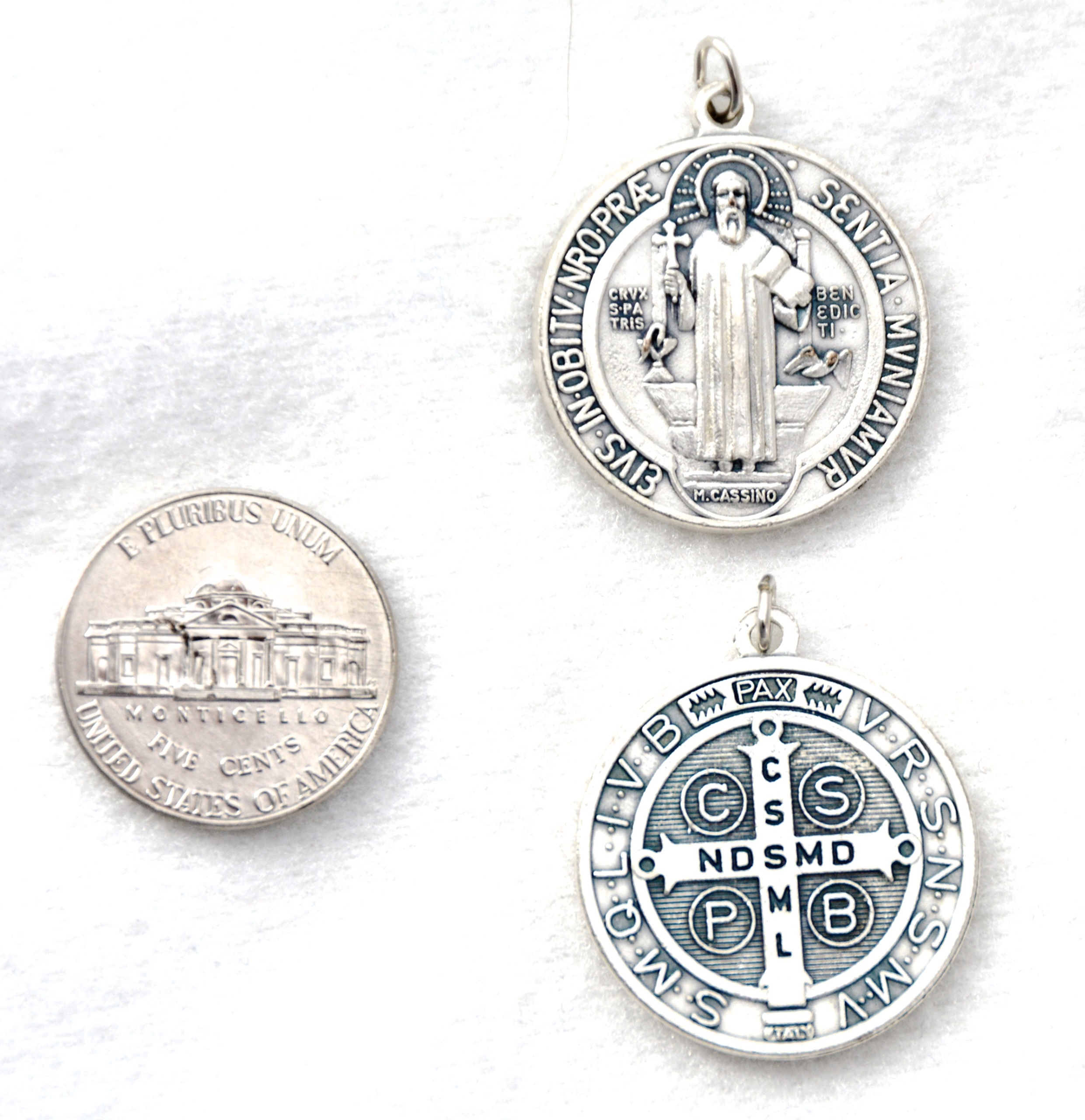 medallion poison patron of relic benito st sufferers chaplet benedict san monks products saint rosary